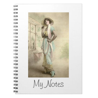 Vintage Fashion 5 Notebook