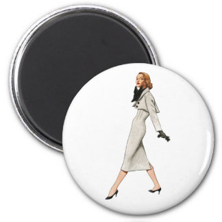 Vintage Fashion Image Magnet