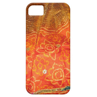Vintage Fashion : Jaipur Print Gold with Zari Work iPhone 5 Cases