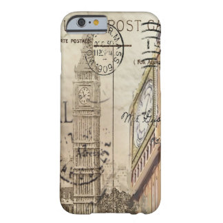 vintage fashion london landmark big ben barely there iPhone 6 case