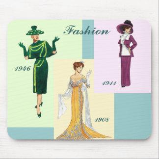Vintage Fashion Mousepad