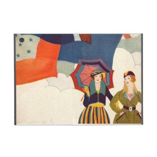 Vintage Fashionable Women Retro Colorful Bold iPad Mini Cases