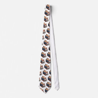 Vintage Father and Daughter, Happy Father's Day! Tie
