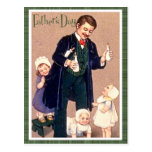 Vintage Father's Day Postcard