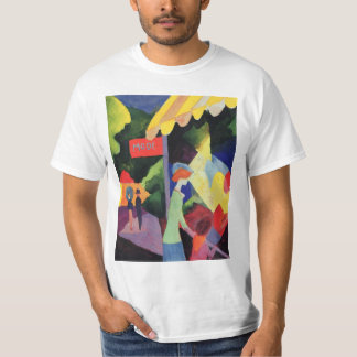 Vintage Fauvism, Fashion Window by August Macke T-Shirt