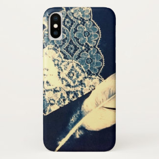 Vintage Feather and Lace Case-Mate iPhone Case