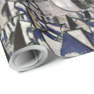 Vintage Fernand Leger Contrast of Forms Wrapping Paper