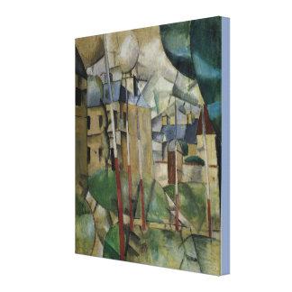 Vintage Fernand Leger Landscape Canvas Print