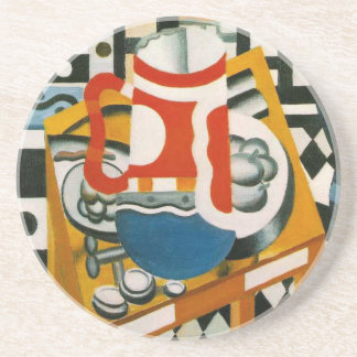 Vintage Fernand Leger Still Life with a Beer Mug Coaster