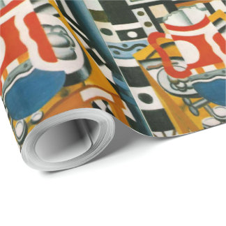 Vintage Fernand Leger Still Life with a Beer Mug Wrapping Paper