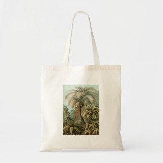 Vintage Ferns and Palm Tree Botanical Tote Bag