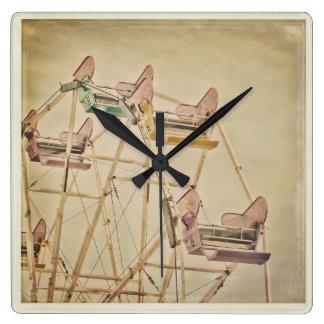 Vintage Ferris Wheel clock