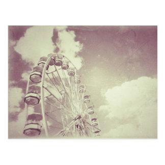 Vintage Ferris Wheel - Postcard