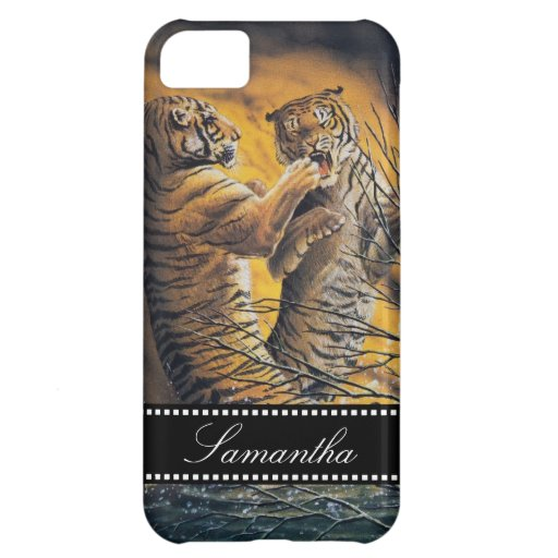 Vintage Fighting Tigers iPhone 5C Cover