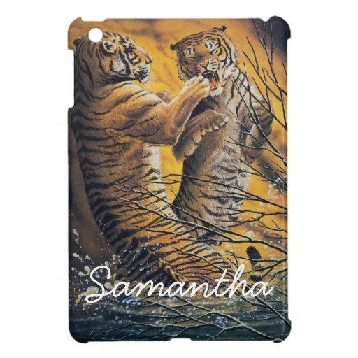 Vintage Fighting Tigers iPad Mini Covers
