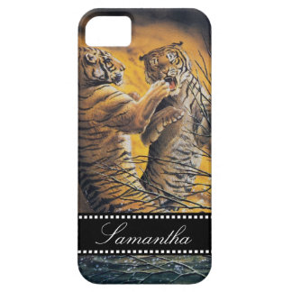 Vintage Fighting Tigers iPhone 5 Cases