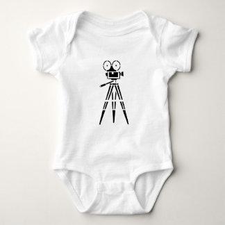 Vintage Film Movie Set Camera Baby Bodysuit