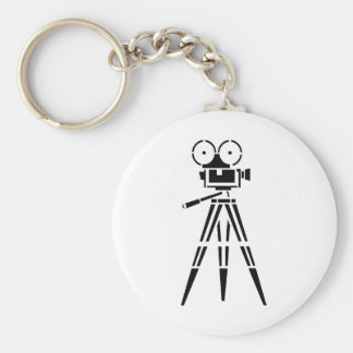 Vintage Film Movie Set Camera Keychain