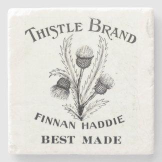 Vintage Finnan Haddie Stone Coaster