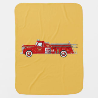 Vintage fire pumper / engine blanket