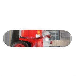 Vintage Fire Truck Skate Board Decks
