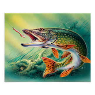 Vintage Fish Home Office wall decor