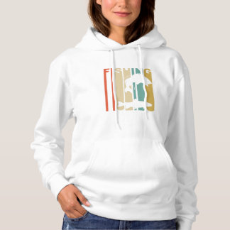 Vintage Fishing Graphic Hoodie
