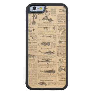 Vintage Fishing Lures Antique Maple iPhone 6 Bumper