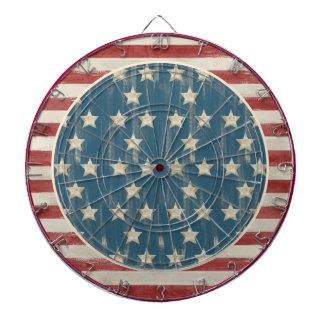 Vintage Flag Dart Board