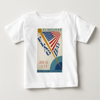 Vintage Flag Day Baby T-Shirt