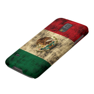Vintage Flag of Mexico Distressed Galaxy S5 Cover