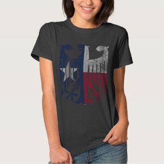 Vintage Flag of Texas German Eagle Heritage Shirts