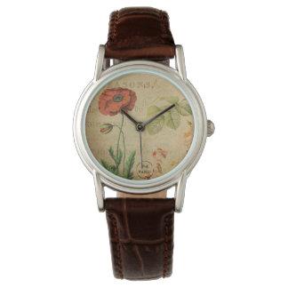 Vintage Fleur Watch