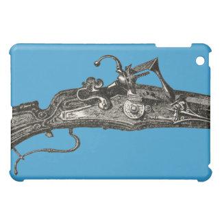 Vintage Flintlock Rifle Gun Apple iPad Mini Case