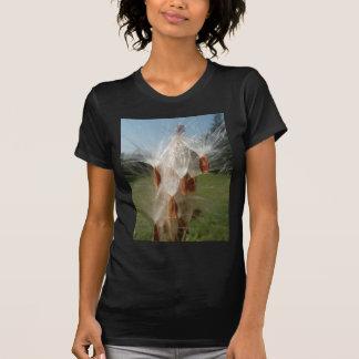 Vintage Flora and Fauna Milkweeds Floating.jpg T Shirt