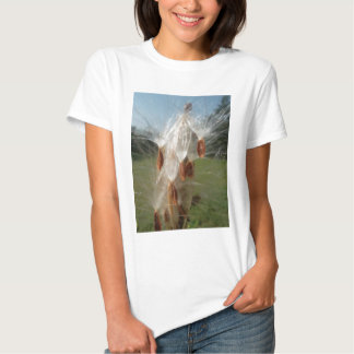 Vintage Flora and Fauna Milkweeds Floating.jpg T Shirts