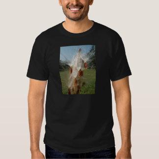 Vintage Flora and Fauna Milkweeds Floating.jpg Tee Shirts