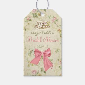 Vintage Floral and Teacup Bridal Shower Gift Tags