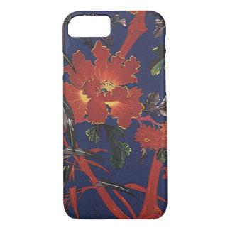 Vintage Floral Art Deco, Garden Flowers iPhone 7 Case
