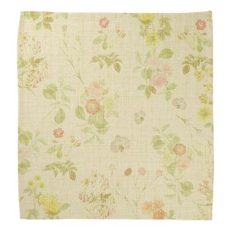 Vintage floral bandana