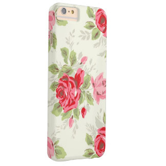 VINTAGE FLORAL BARELY THERE iPhone 6 PLUS CASE