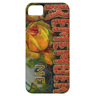 Vintage Floral Birthday Greeting -iPhone 5 iPhone 5 Covers