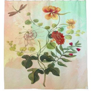 Vintage Floral Botanical Illustration Flowers Art