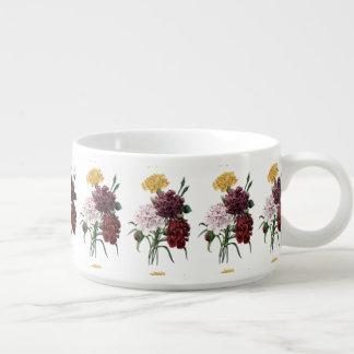 Vintage Floral Bouquet Chili Bowl