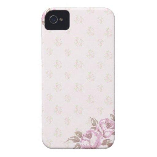 Vintage Floral Case-Mate Blackberry Case