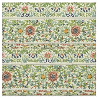 """Vintage Floral Cotton Fabric 54"""""""