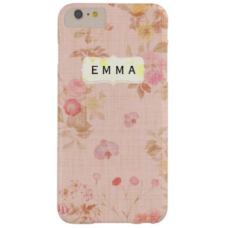 Vintage floral customisable iPhone 6 case