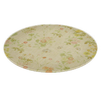 Vintage floral cutting board