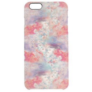 Vintage Floral Daisies Clear iPhone 6 Plus Case