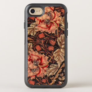Vintage Floral Damask Honeysuckle Pattern OtterBox Symmetry iPhone 8/7 Case